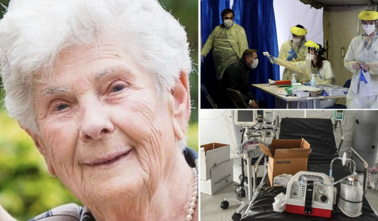 90-year-old woman refuses ventilator, says it should be used on younger infected patients